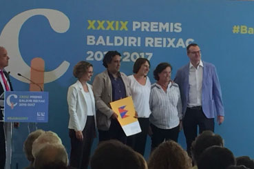 Premi Baldiri Reixac 2017