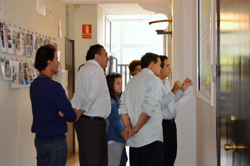 Visita de Walter Pinheiro a l'Escola