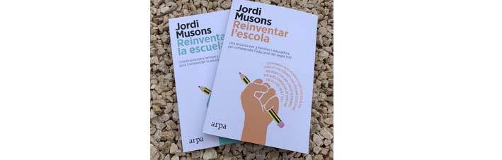 Jordi Musons als mitjans amb Reinventar l'escola